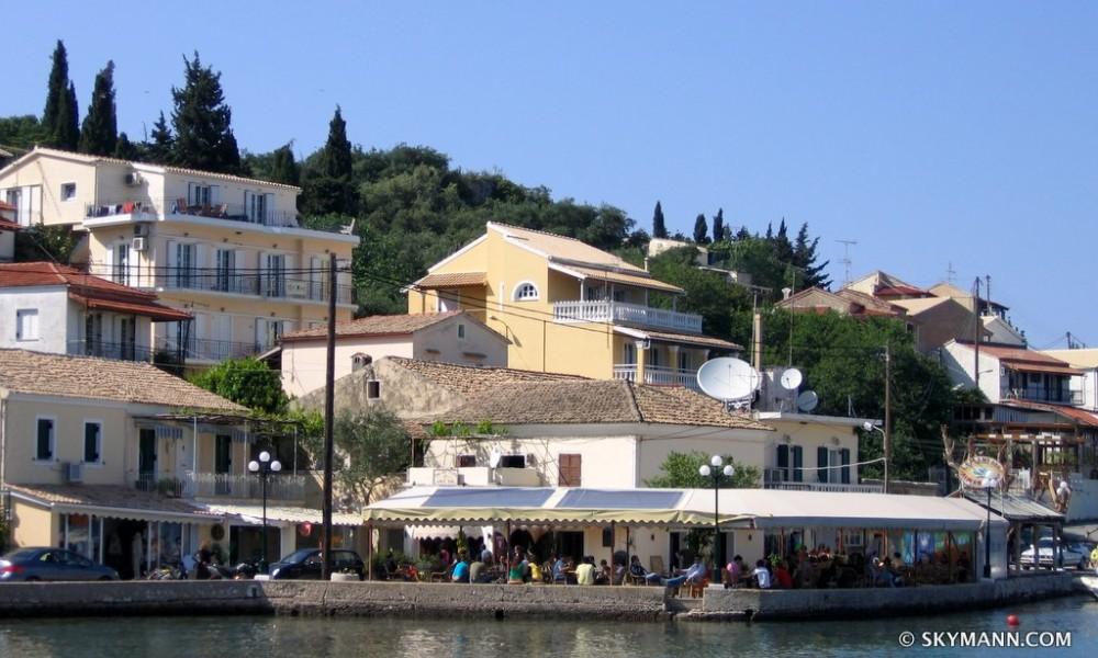 Рыбацкая деревня на Корфу