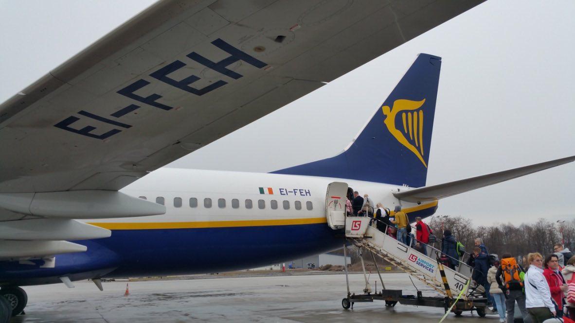Ryanair Украина - бюджетные рейсы из Киева и Львова
